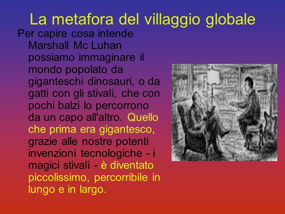 La metafora del villaggio globale
