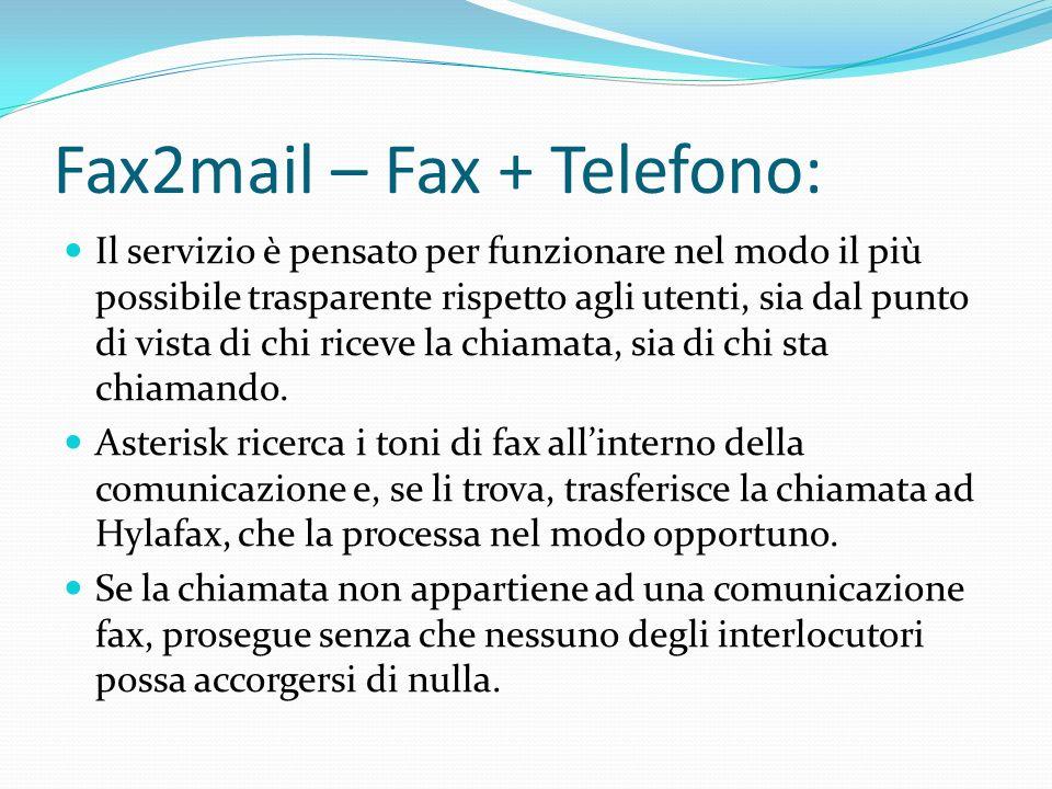 Fax2mail – Fax + Telefono: