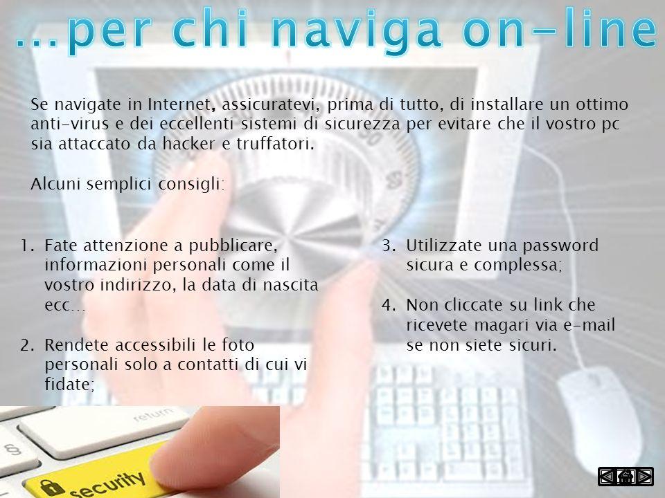 …per chi naviga on-line