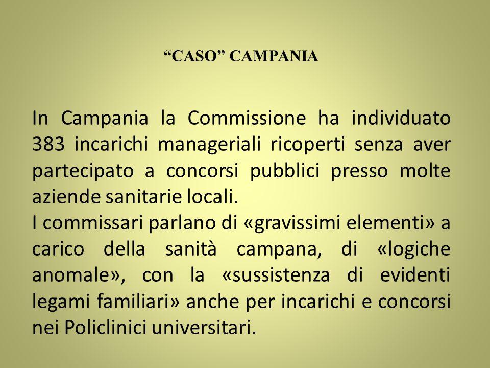 CASO CAMPANIA