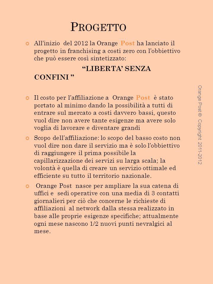 Progetto LIBERTA' SENZA CONFINI
