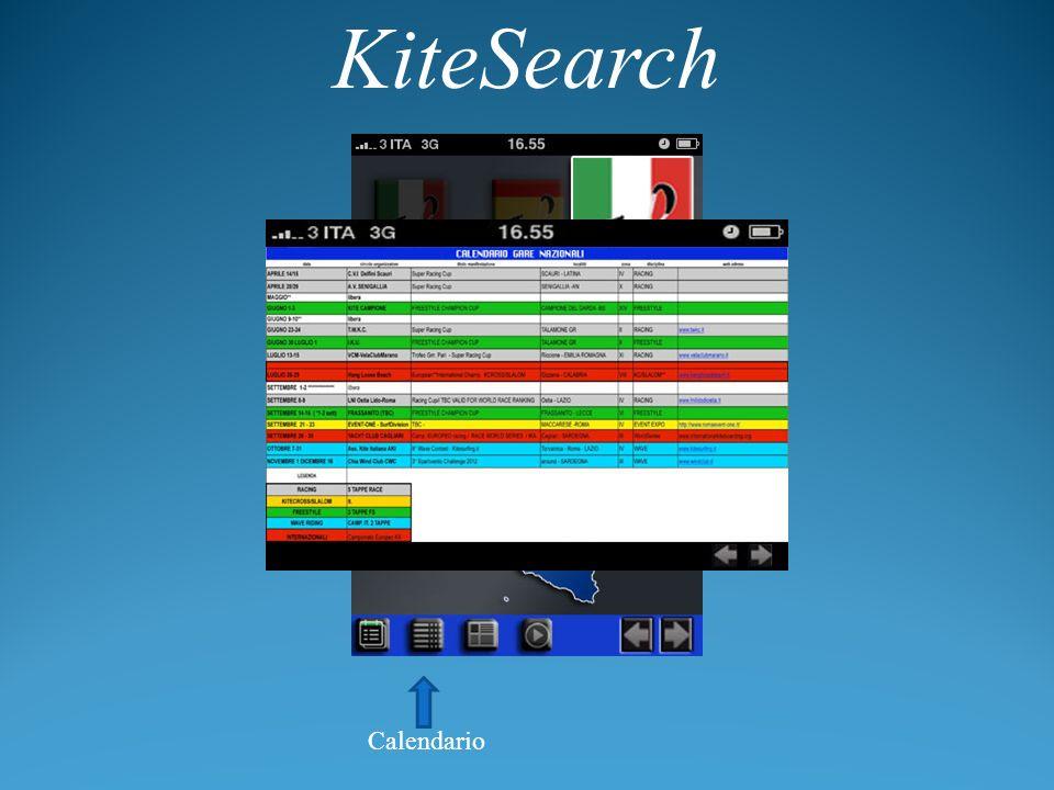 KiteSearch Calendario