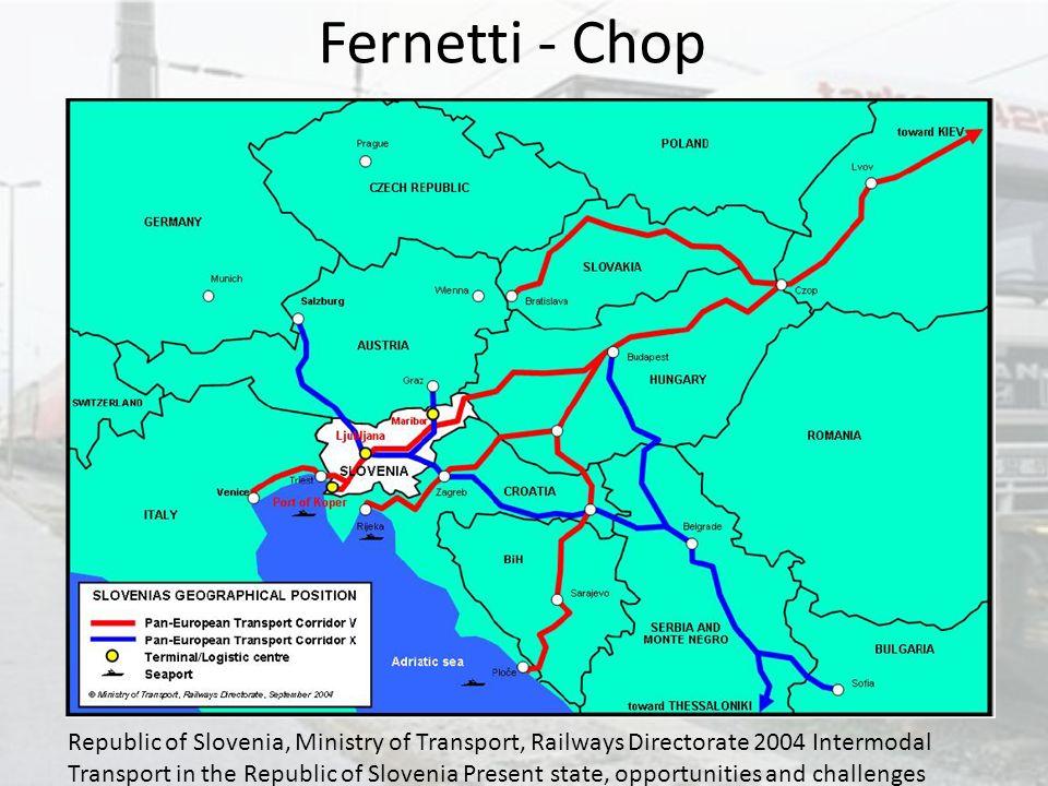 Fernetti - Chop Corridoio V tra Barcellone e Kiev.