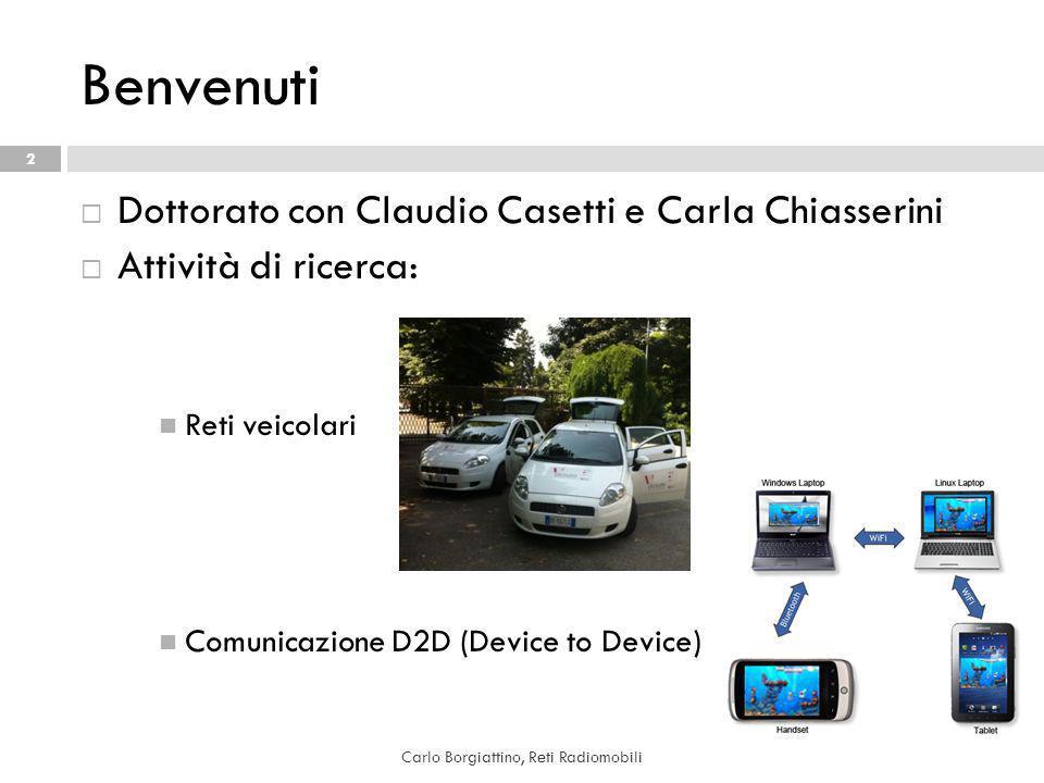 Carlo Borgiattino, Reti Radiomobili