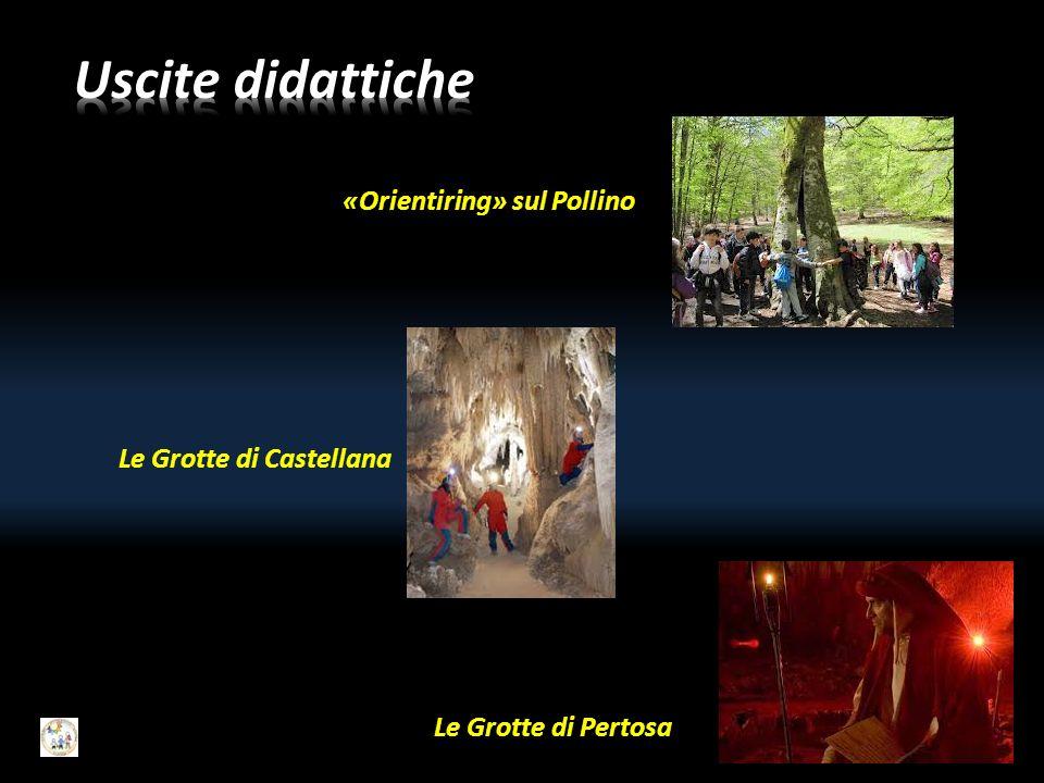 Uscite didattiche «Orientiring» sul Pollino Le Grotte di Castellana