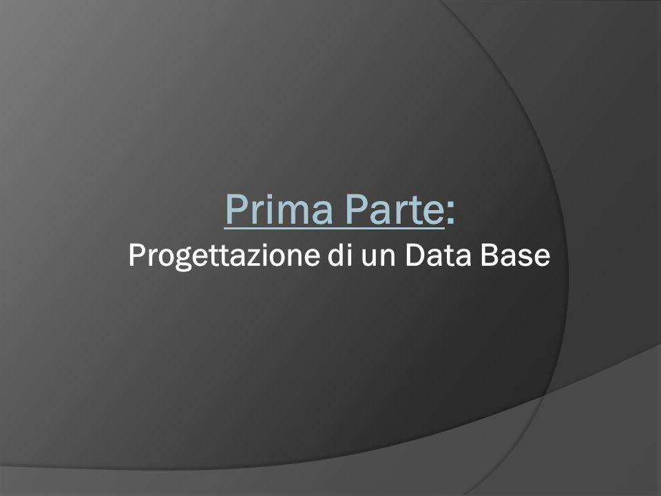 Progettazione di un Data Base