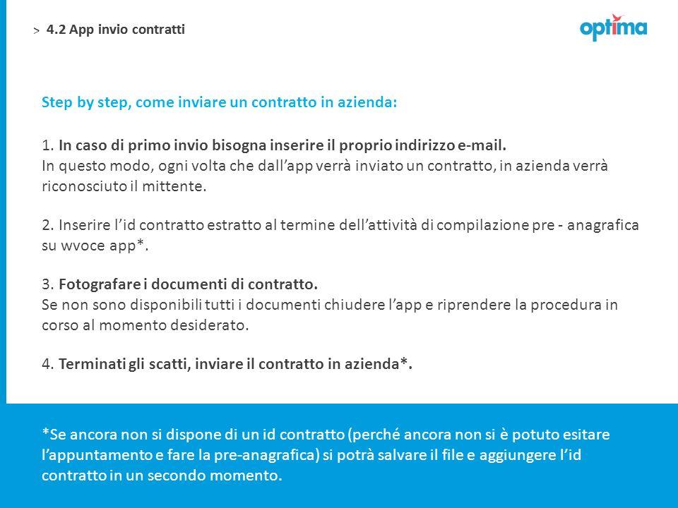 Step by step, come inviare un contratto in azienda:
