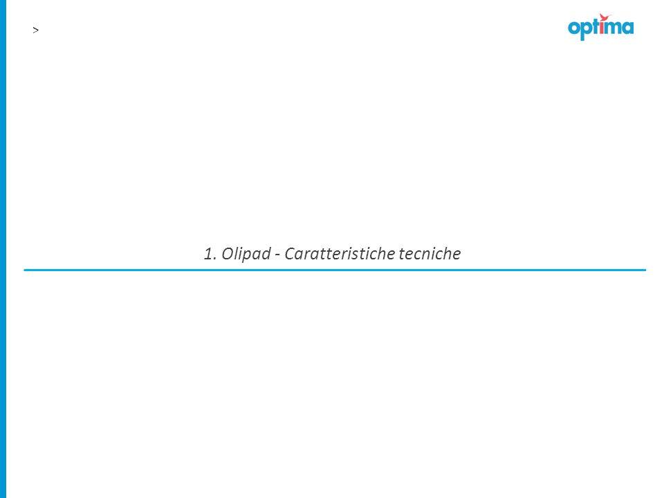 1. Olipad - Caratteristiche tecniche