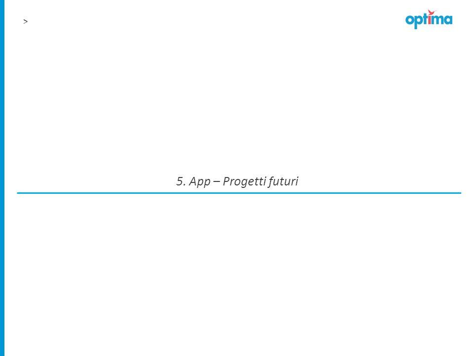 5. App – Progetti futuri