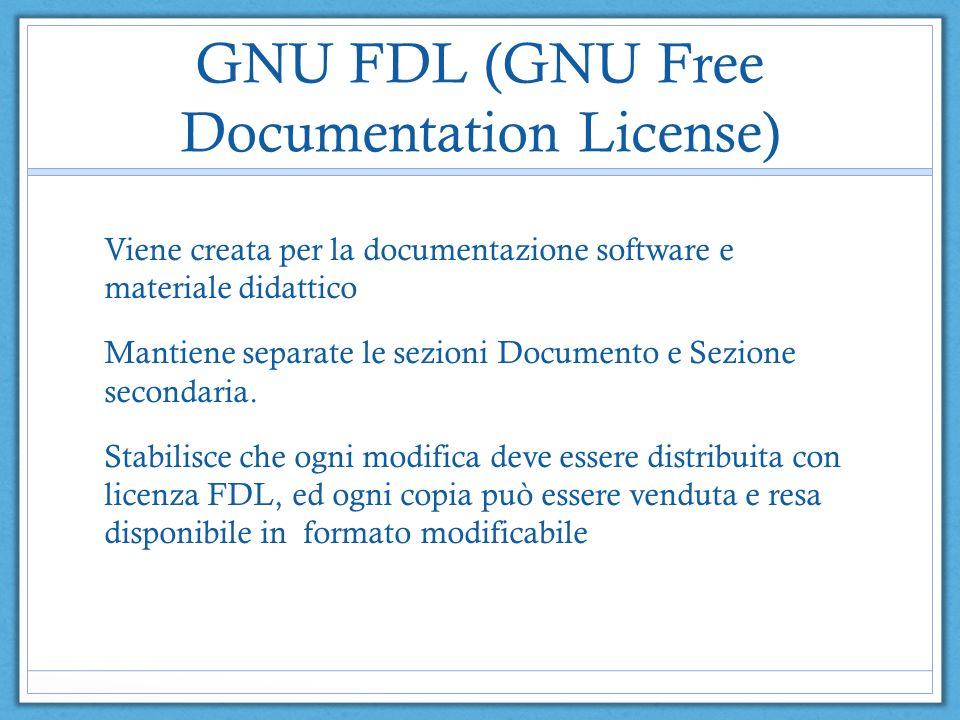 GNU FDL (GNU Free Documentation License)