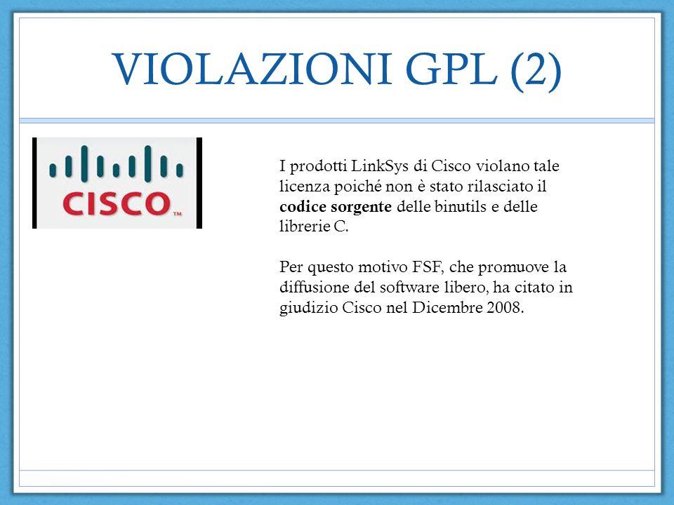 VIOLAZIONI GPL (2)