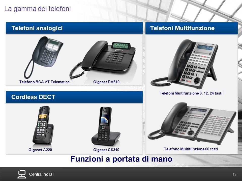 Telefoni Multifunzione 6, 12, 24 tasti Telefono Multifunzione 60 tasti
