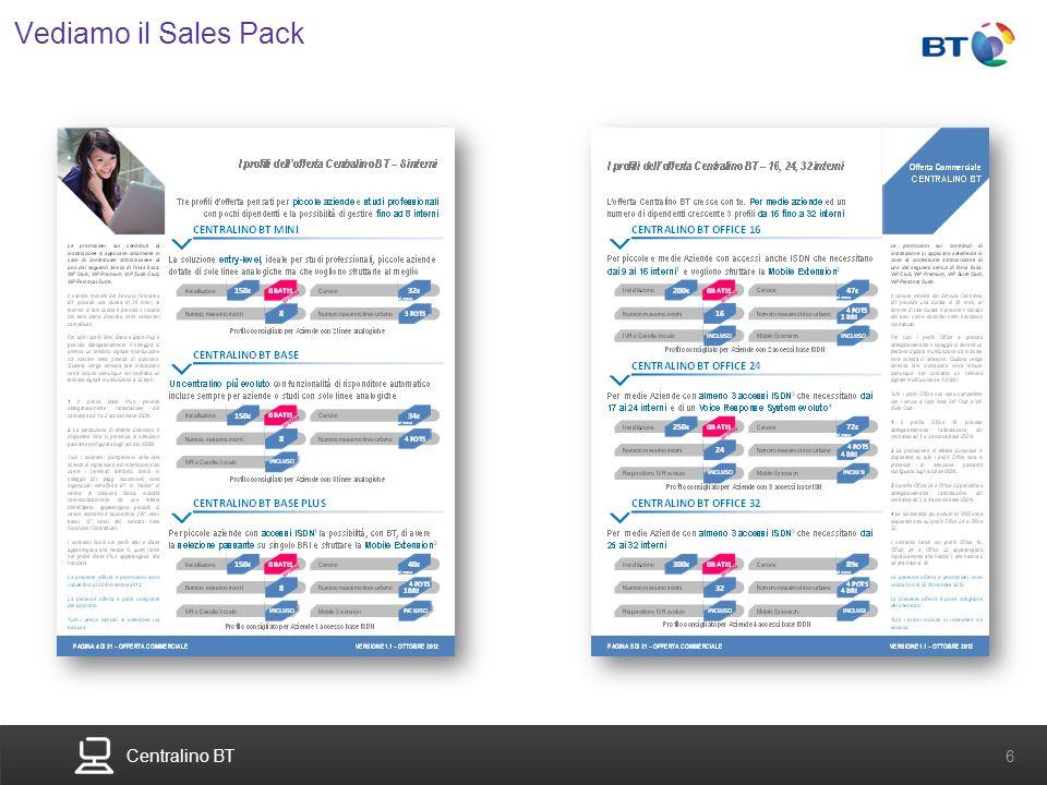 Vediamo il Sales Pack