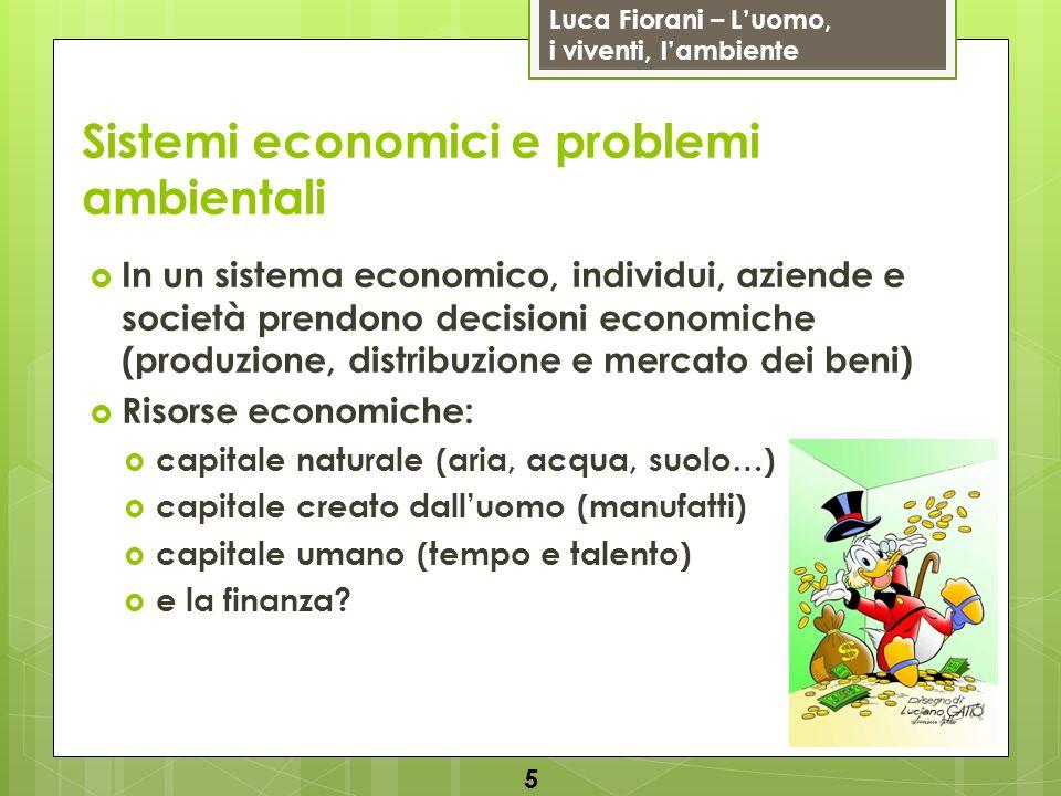 Sistemi economici e problemi ambientali