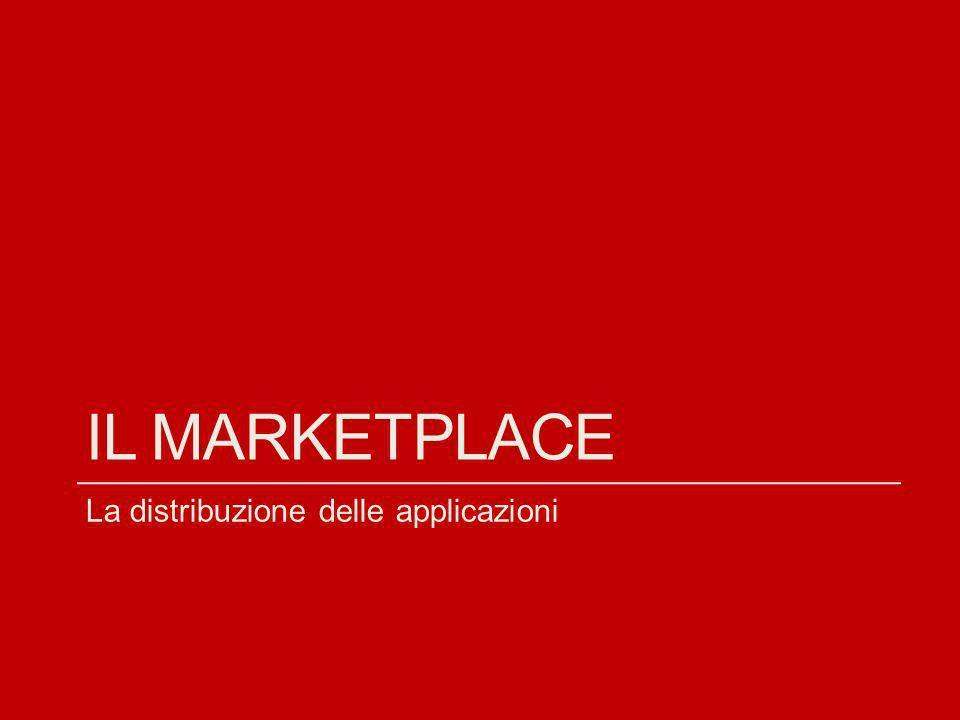 Il marketplace La distribuzione delle applicazioni