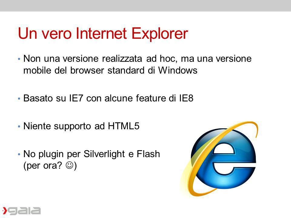 Un vero Internet Explorer