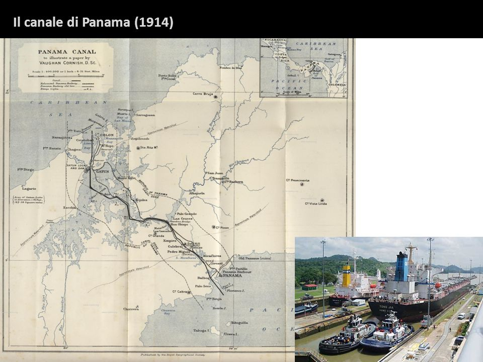Il canale di Panama (1914)