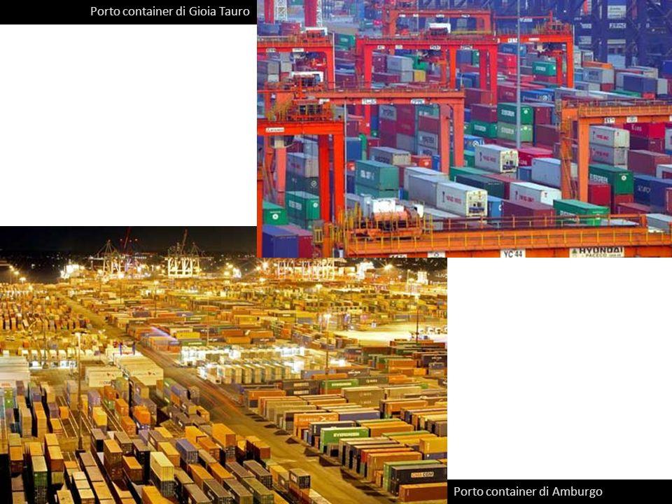 Porto container di Gioia Tauro