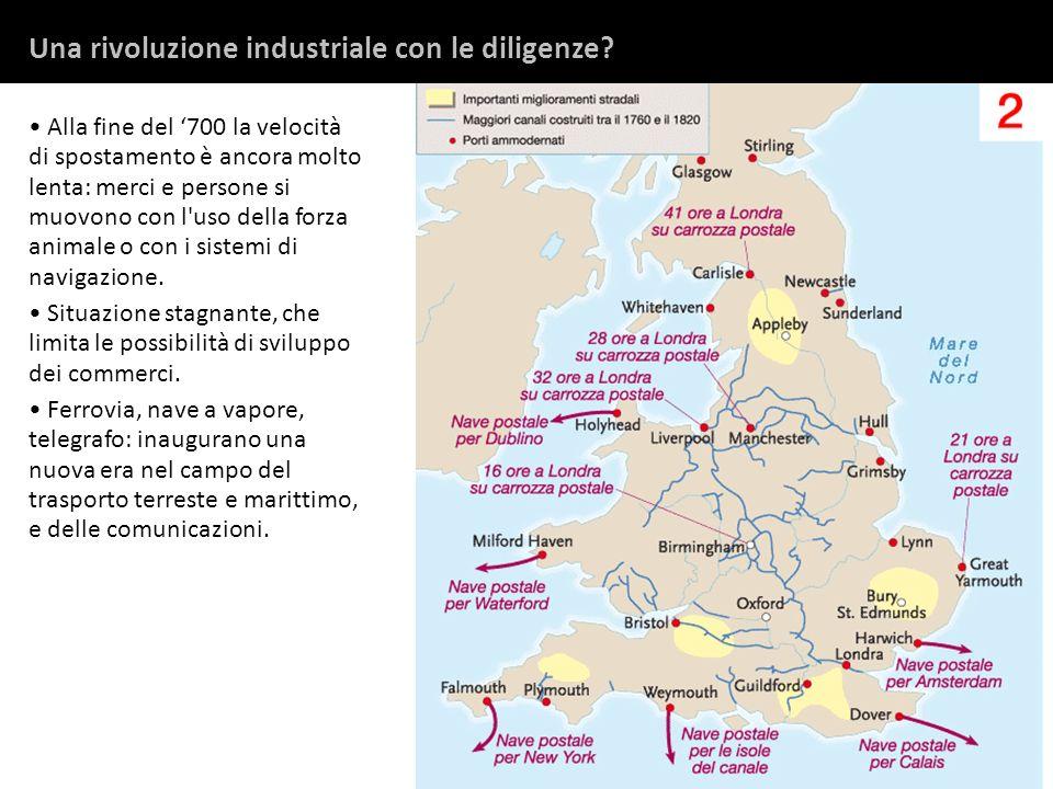 Una rivoluzione industriale con le diligenze