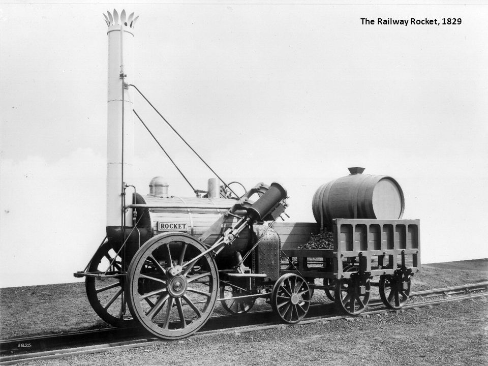 The Railway Rocket, 1829