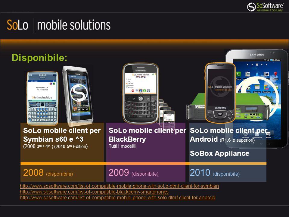 Disponibile: 2008 (disponibile) 2009 (disponibile) 2010 (disponibile)
