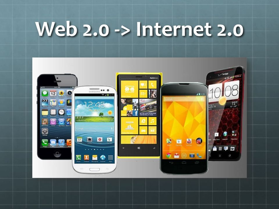 Web 2.0 -> Internet 2.0