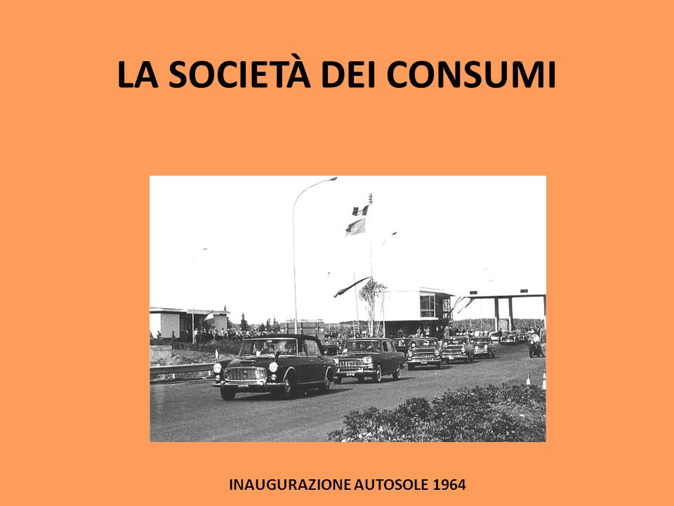 INAUGURAZIONE AUTOSOLE 1964