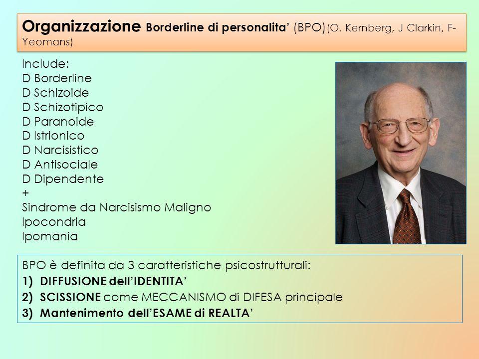 Organizzazione Borderline di personalita' (BPO)(O