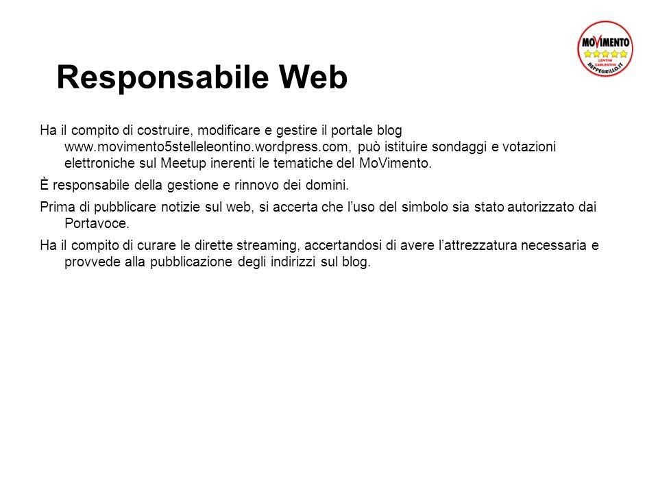 Responsabile Web