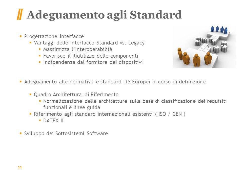 Adeguamento agli Standard