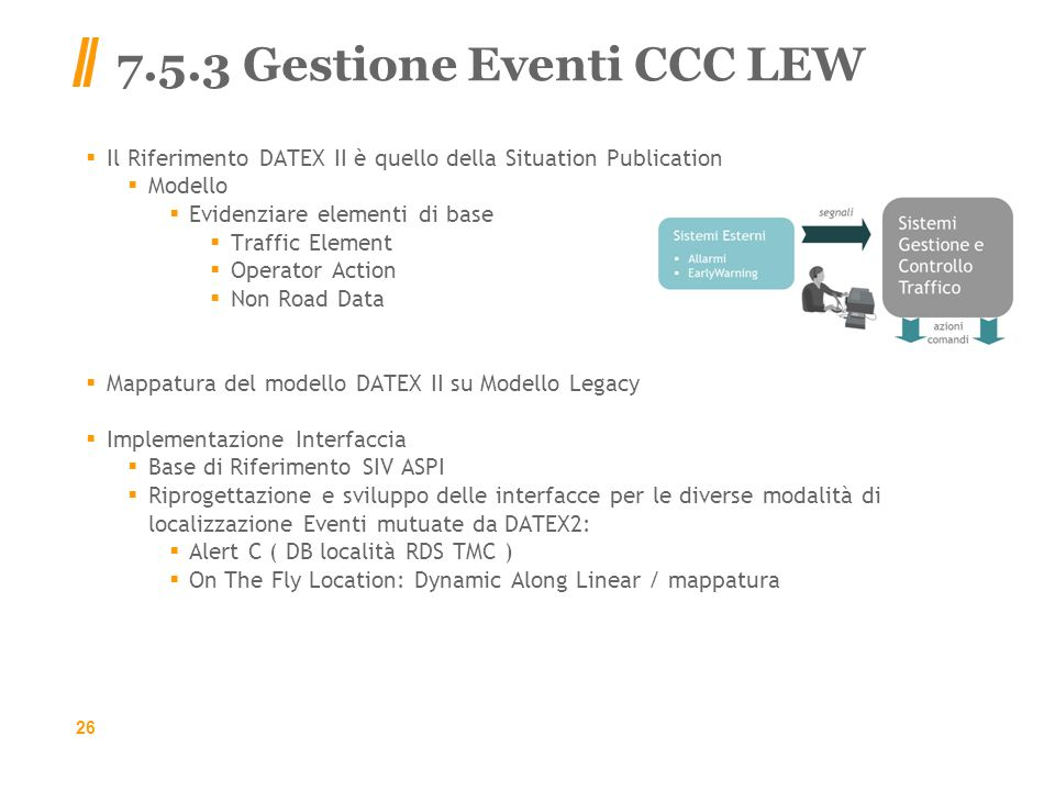 7.5.3 Gestione Eventi CCC LEW
