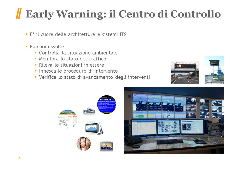 Early Warning: il Centro di Controllo
