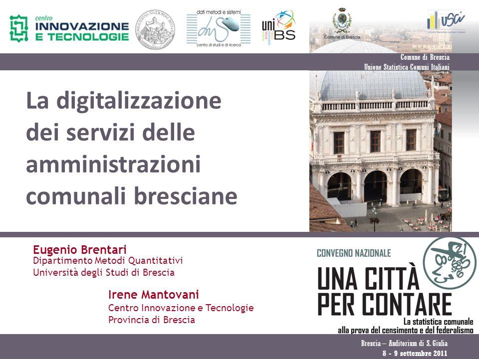 Comune di Brescia Unione Statistica Comuni Italiani