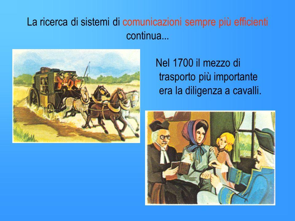 La ricerca di sistemi di comunicazioni sempre più efficienti continua...