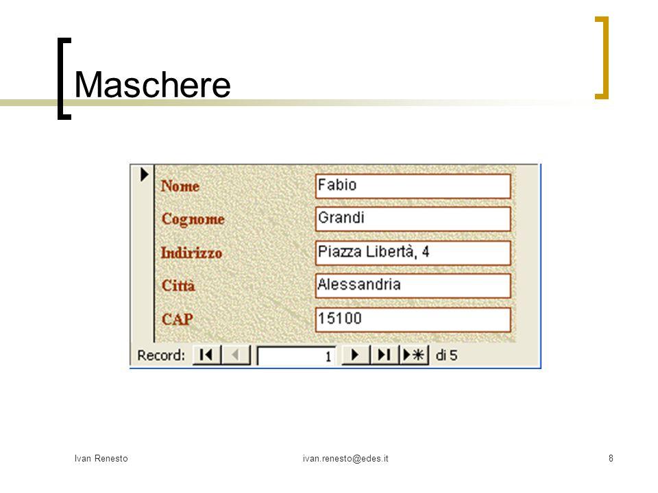Maschere Ivan Renesto ivan.renesto@edes.it
