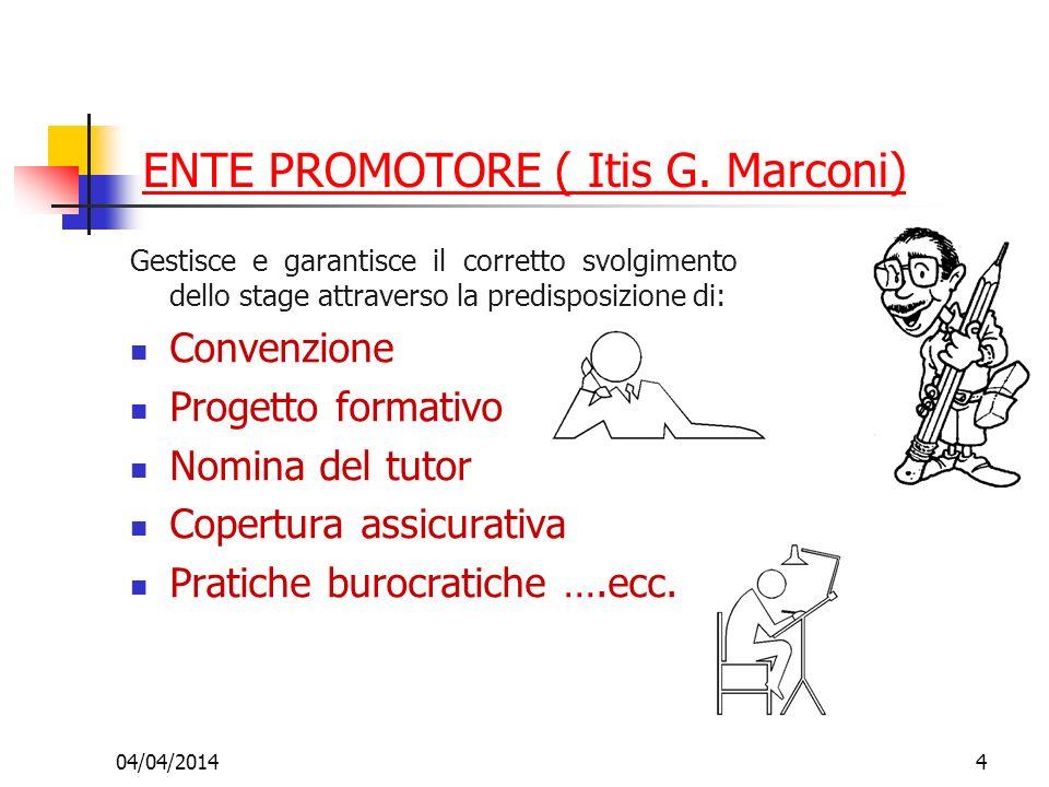 ENTE PROMOTORE ( Itis G. Marconi)