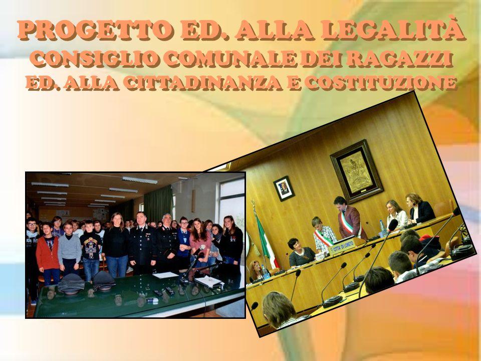 PROGETTO ED. ALLA LEGALITÀ