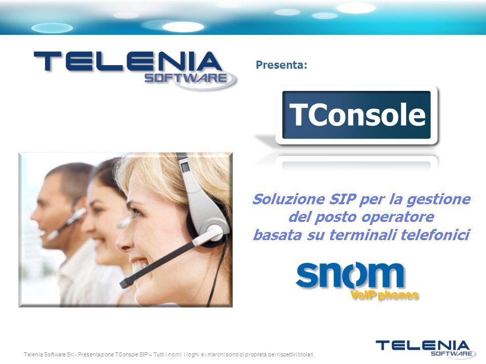 Soluzione SIP per la gestione basata su terminali telefonici
