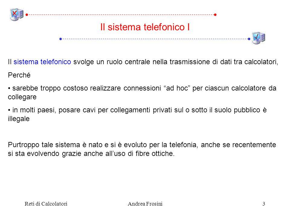Il sistema telefonico I
