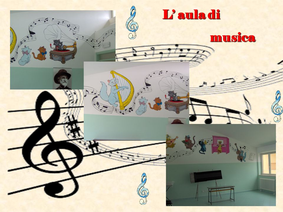 L' aula di musica