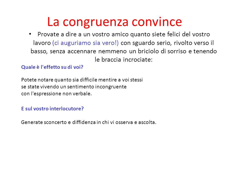 La congruenza convince
