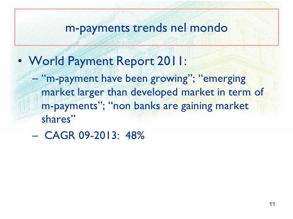 m-payments trends nel mondo
