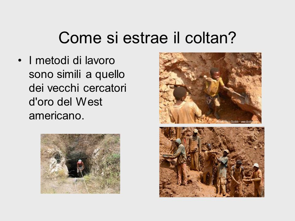 Come si estrae il coltan