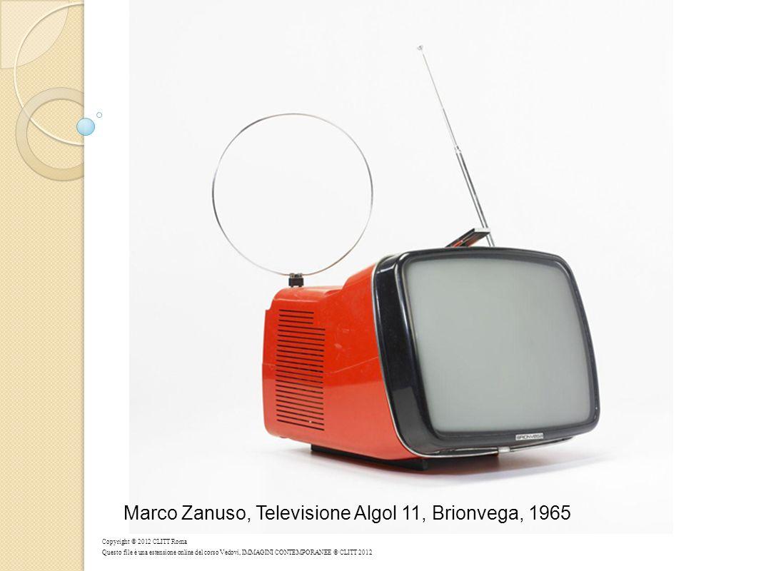 Marco Zanuso, Televisione Algol 11, Brionvega, 1965