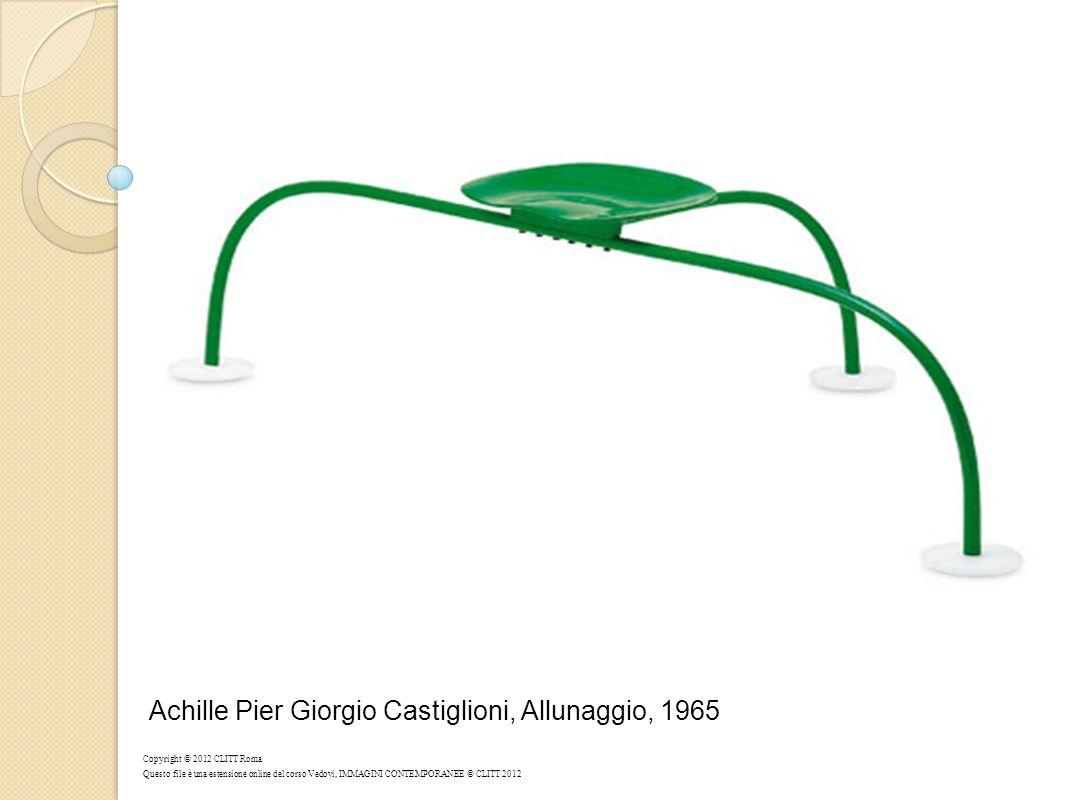 Achille Pier Giorgio Castiglioni, Allunaggio, 1965