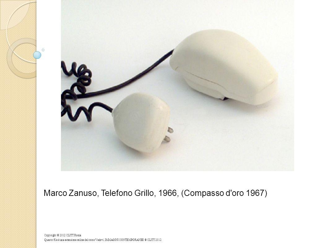 Marco Zanuso, Telefono Grillo, 1966, (Compasso d oro 1967)