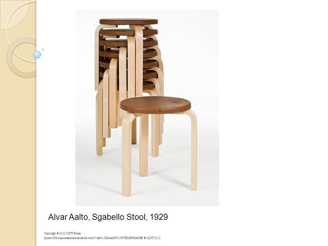 Alvar Aalto, Sgabello Stool, 1929