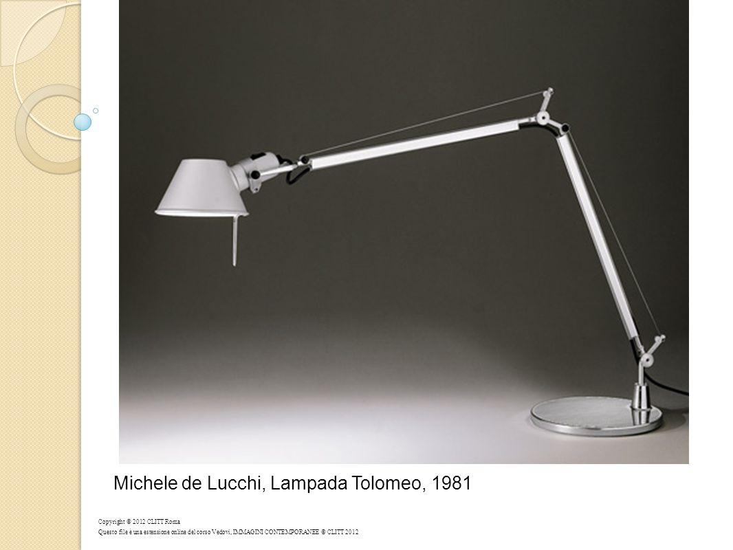 Michele de Lucchi, Lampada Tolomeo, 1981