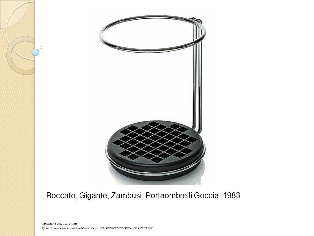 Boccato, Gigante, Zambusi, Portaombrelli Goccia, 1983