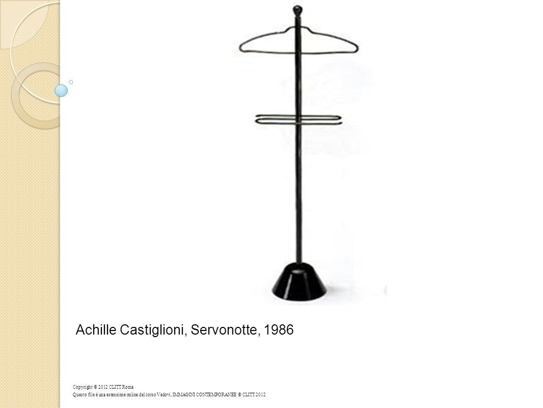 Achille Castiglioni, Servonotte, 1986